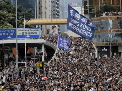 Breitbart: Hundreds of Thousands of Hong Kong Prot