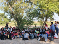 Rio Grande Valley Sector Border Patrol agents apprehend a group of 146 Central American migrants near Los Ebanos, Texas. (Photo: U.S. Border Patrol/Rio Grande Valley Sector)