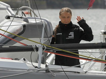 Greta Thunberg's Team Taking Transatlantic Flights as She Sails in Solar Yacht