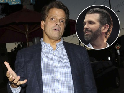 Report: Anthony Scaramucci Honored Don Jr. at Business Dinner Weeks Before Feud with President Trump