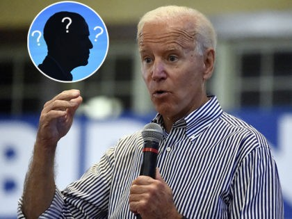 (INSET: Barack Obama) Former Vice President Joe Biden speaks, Wednesday, Aug. 28, 2019, at a town hall for his Democratic presidential campaign in Spartanburg, S.C. (AP Photo/Meg Kinnard)