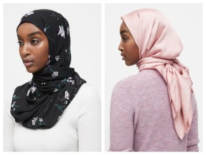 Banana Republic Hijab collage