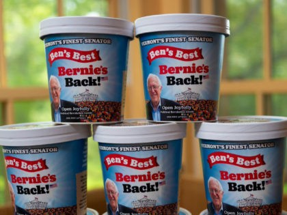 Ben & Jerry's co-founders announced a limited edition ice cream on Friday in support of Sen. Bernie Sanders' (I-VT) and his presidential bid.