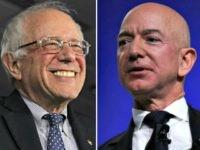 Bernie Sanders, Jeff Bezos