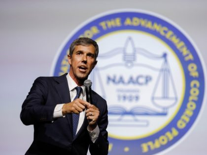 Democratic presidential candidate, former Rep. Beto O'Rourke (D-TX) participates in a Presidential Candidates Forum at the NAACP 110th National Convention on July 24, 2019 in Detroit, Michigan. The theme of this years Convention is, When We Fight, We Win. (Photo by Bill Pugliano/Getty Images)