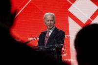 """I'm a lot closer than I was before Christmas and we'll make the decision soon,"" former Vice President Joe Biden said of a potential run for the White House in 2020. 