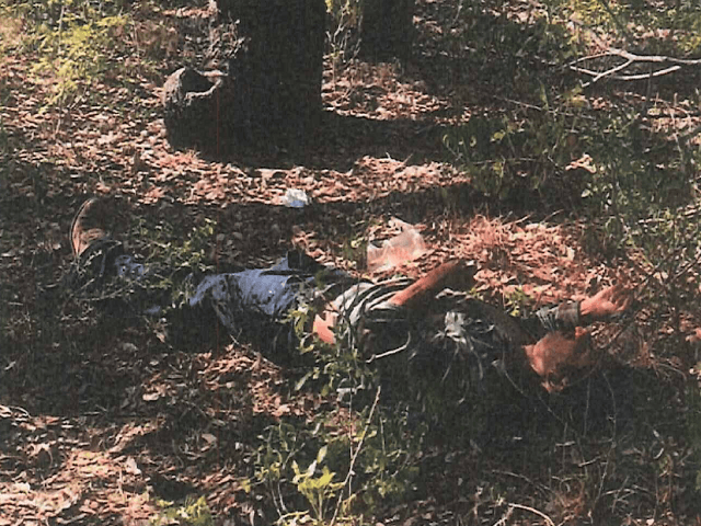 Body of a deceased Nicaraguan migrant found in Brooks County,Texas. (Photo: Brooks County Sheriff's Office/Deputy Robert Castanon)