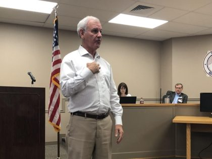 Rep. Bradley Byrne (R-AL) speaks to the Shelby County GOP in Pelham, AL on 8/13/2019