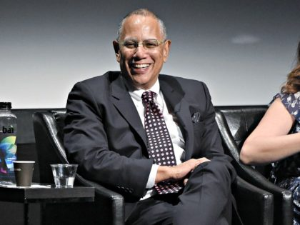 "NEW YORK, NY - APRIL 28: Executive Editor of New York Times Dean Baquet speaks during panel at the screening of ""The Fourth Estate"" - 2018 Tribeca Film Festival at BMCC Tribeca PAC on April 28, 2018 in New York City. (Photo by Nicholas Hunt/Getty Images for Tribeca Film Festival)"