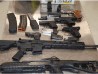 U.S. Customs and Border Protection officers seized seven firearms and more than 10,000 rounds of ammunition during a failed smuggling attempt in the Laredo Sector. (Photo: U.S. Customs and Border Protection/Laredo Sector)