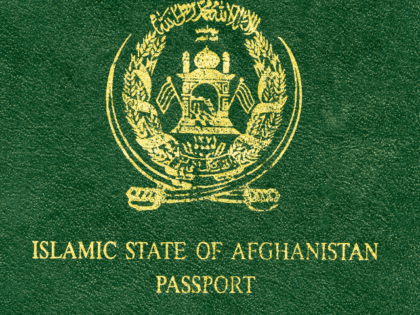 Afghanistan passport