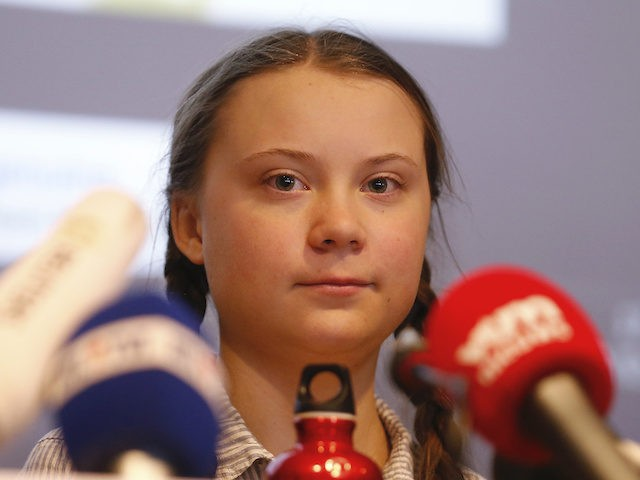 Swedish climate activist Greta Thunberg pictured during a press conference following a student strike action, organized by 'Youth For Climate', urging pupils to skip classes to protest a lack of climate awareness, Thursday 21 February 2019 in Brussels. This marks the seventh consecutive week youths take the streets on Thursday. …