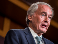 Sen. Ed Markey (D-MA) speaks during a news conference discussing the EPA's new affordable clean energy rule on June 19, 2019 in Washington, DC. The Environmental Protection Agency issued a new carbon emissions rule that replaces the Obama-era Clean Power Plan. (Photo by Zach Gibson/Getty Images)