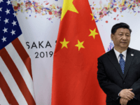 China's President Xi Jinping waits for a meeting with US President Donald Trump (not pictured) on the sidelines of the G20 Summit in Osaka on June 29, 2019. (Photo by Brendan Smialowski / AFP) (Photo credit should read BRENDAN SMIALOWSKI/AFP/Getty Images)