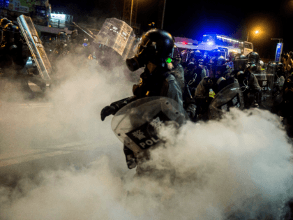 Study: Hong Kong Police Used So Much Tear Gas Journalists Coughed Blood