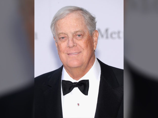 "NEW YORK, NY - SEPTEMBER 23:David Koch attends the Metropolitan Opera Season Opening Production Of ""Eugene Onegin"" at The Metropolitan Opera House on September 23, 2013 in New York City. (Photo by Jamie McCarthy/Getty Images)"
