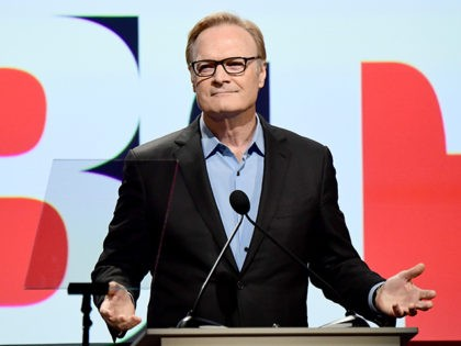 BEVERLY HILLS, CA - SEPTEMBER 23: TV host Lawrence O'Donnell speaks onstage at Los Angeles LGBT Center's 48th Anniversary Gala Vanguard Awards at The Beverly Hilton Hotel on September 23, 2017 in Beverly Hills, California. (Photo by Emma McIntyre/Getty Images)