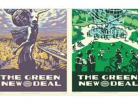 Green New Deal Art Posters