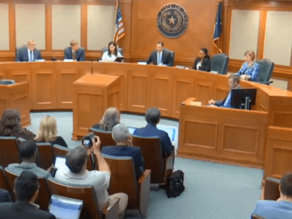 Texas House General Investigating Committee hearing on the matter of bribery allegations against Speaker Dennis Bonnen and Chairman Dustin Burrows. (House Video Screenshot)