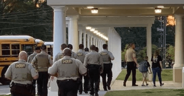 Georgia Deputies Accompany Son of Fallen Deputy to First ...