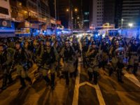Unrest in Hong Kong During Pro-Democracy Protests