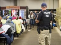 Immigration and Customs Enforcement worksite enforcement operation in Canton, Mississippi. (ICE)