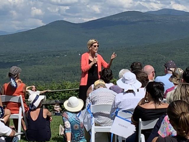Elizabeth Warren (Joel Pollak / Breitbart News)