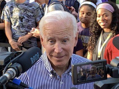 Joe Biden (Joel Pollak / Breitbart News)