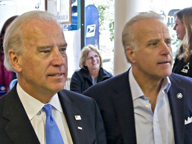 Former Vice President Joe Biden with his brother, Jim Biden, who is now accused of defrauding a Tennessee businessman in a lawsuit filed in July 2019. (Photo: Christina Jamison/NBC NewsWire)