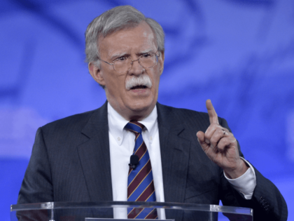 Former US Ambassador to the UN John Bolton speaks to the Conservative Political Action Conference (CPAC) at National Harbor, Maryland, February 24, 2017. / AFP PHOTO / Mike Theiler (Photo credit should read MIKE THEILER/AFP/Getty Images)