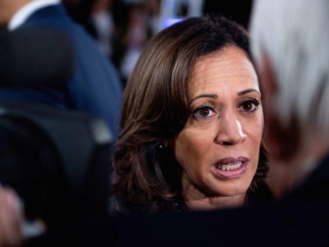Kamala Harris (Brendan Smialowski / AFP / Getty)