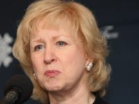 Former Prime Minister of Canada Kim Campbell takes questions at the International Women Leaders Global Security Initiative 16 November, 2007 in New York. Women in leadership positions from around the world are holding their first summit in New York to enhance the effectiveness of women's leadership on global security. AFP …