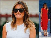 Fashion Notes: Melania Trump Is French Riviera Ready in Calvin Klein, McQueen