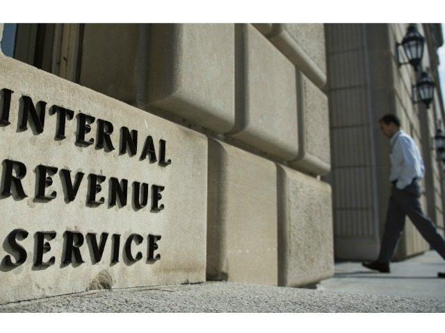 Man Walks into IRS Building