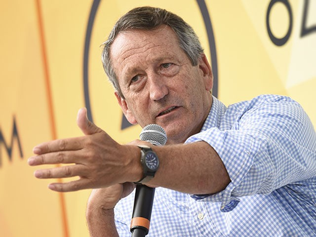 Republican politician Mark Sanford speaks at OZY Fest in Central Park on Saturday, July 21, 2018, in New York. (Photo by Evan Agostini/Invision/AP)