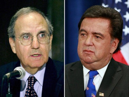 George Mitchell, Bill Richardson