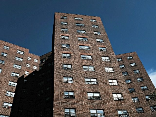 NEW YORK, NY - JUNE 11: Public housing stands in Brooklyn on June 11, 2018 in New York City. In an announcement today made public by Manhattan U.S. Attorney Geoffrey Berman, New York City will pay $2 billion to settle claims of corruption and mismanagement at the nation's largest public …
