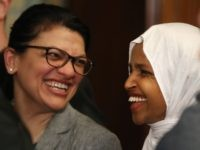 Report: Ilhan Omar, Rashida Tlaib Share Antisemitic Cartoon by Participant in Iran's Holocaust Denial Contest