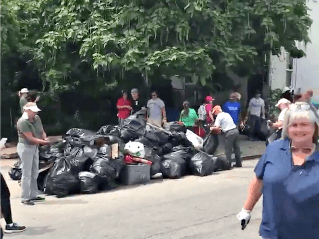 Scott Pressler Baltimore Cleanup