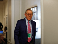 Miami Dolphins owner, Stephen Ross arrives during the NFL owners meeting on Wednesday, May 22, 2019, in Key Biscayne, Fla. (AP Photo/Brynn Anderson)