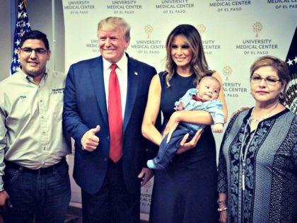 Tito Anchondo family and Trumps