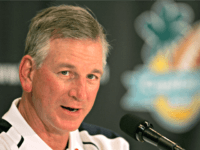 ORLANDO, FL - JANUARY 2: Head coach Tommy Tuberville of the Auburn Tigers talks during the press conference after the Capital One Bowl against the Wisconsin Badgers at the Florida Citrus Bowl on January 2, 2006 in Orlando, Florida. (Photo by Doug Benc/Getty Images)