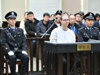 Canadian Robert Lloyd Schellenberg during his retrial on drug trafficking charges at the Intermediate People's Court of Dalian on Monday. Photo: AFP
