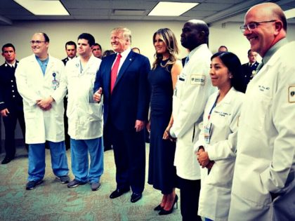 Trumps in El Paso Hospital