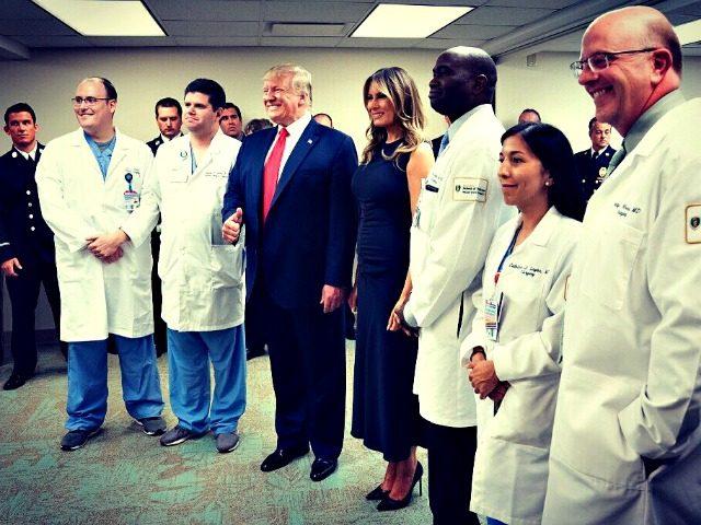 Trumps in El Paso Hospital