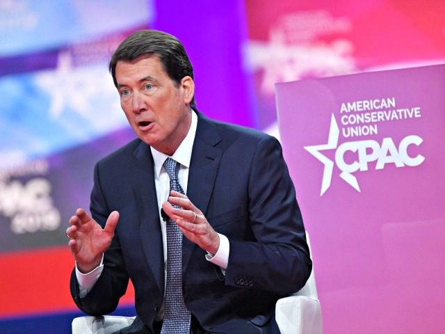 US Ambassador to Japan Bill Hagerty speaks during the annual Conservative Political Action Conference (CPAC) in National Harbor, Maryland, on March 1, 2019. (Photo by MANDEL NGAN / AFP) (Photo credit should read MANDEL NGAN/AFP/Getty Images)
