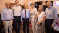 Members of the U.S. House of Representatives visit Hebron together with Palestinian businessman Ashraf Jabari and Avi Zimmerman, founders of the Judea and Samaria Chamber of Commerce and Industry. Credit: JS Chamber of Commerce.