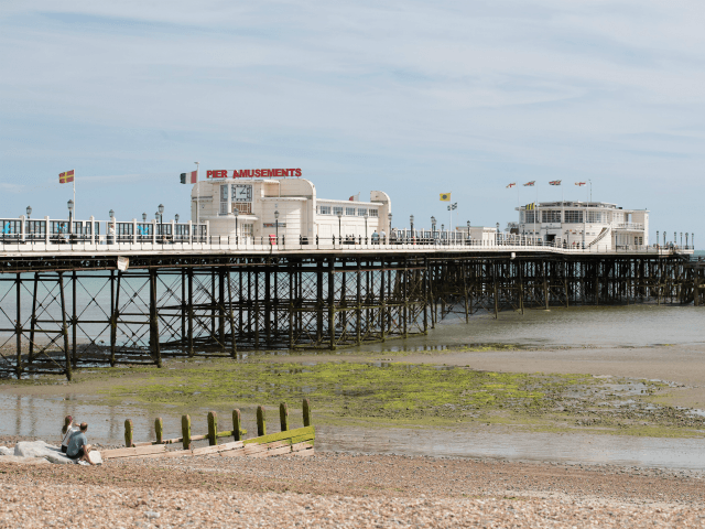 Worthing seafront now re-opened, after report of 'hazardous material'