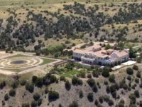 FILE - This Monday, July 8, 2019 photo shows Jeffrey Epstein's Zorro Ranch in Stanley, N.M. New Mexico's attorney general urged officials Thursday, Aug. 29, 2109, to retake state trust land that had been leased to Jeffrey Epstein's ranch, saying the financier's bid for the scrubby, desert acreage meant for …
