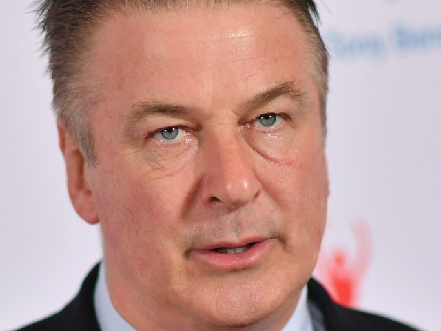 Actor Alec Baldwin attends the 'Exploring the Arts' 20th anniversary Gala at Hammerstein Ballroom on April 12, 2019 in New York City. (Photo by Angela Weiss / AFP) (Photo credit should read ANGELA WEISS/AFP/Getty Images)